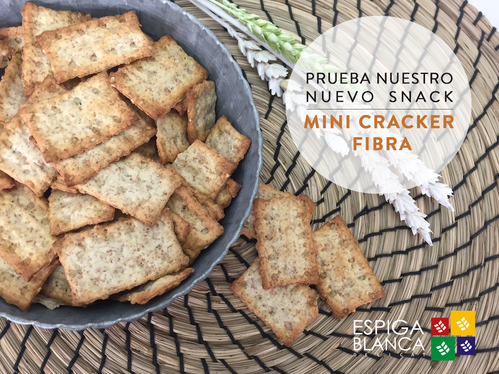 MINI CRACKER FIBRA!